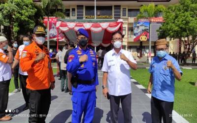 Antisipasi Bencana Alam Siklon Tropis 94 W di Provinsi Gorontalo